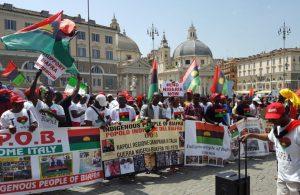 Africa: a Roma manifestazione del popolo Igbo per indipendenza Biafra