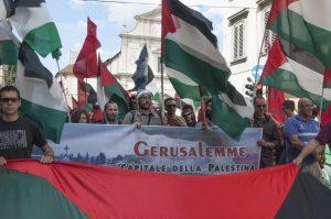 Firenze: manifestazione contro i massacri israeliani in palestina