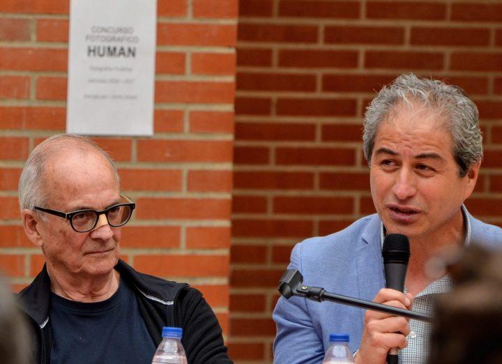 Mario Aguilar, Presidente Colegio Profesores de Chile en el V Foro Humanista Europeo
