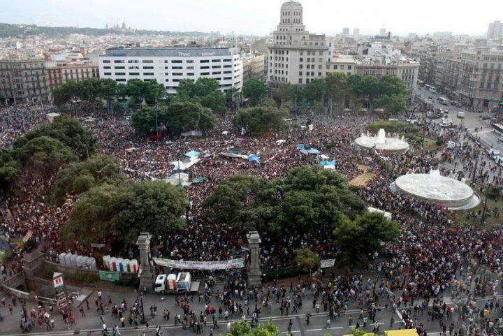 7 χρόνια από την ίδρυση του κινήματος 15Μ