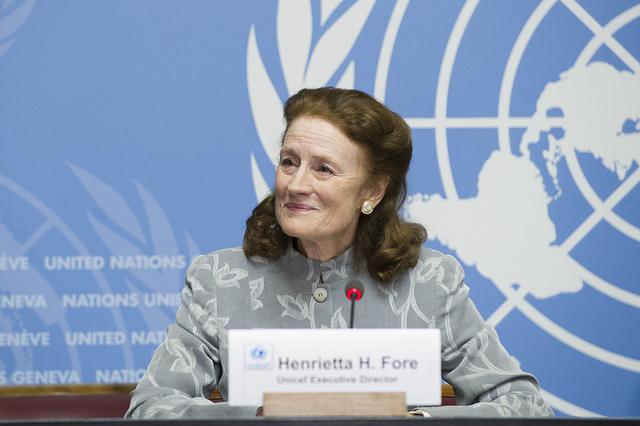 """Henrietta Fore, Direttore generale UNICEF: """"Nessuno è al sicuro fino a quando tutti non sono al sicuro"""""""
