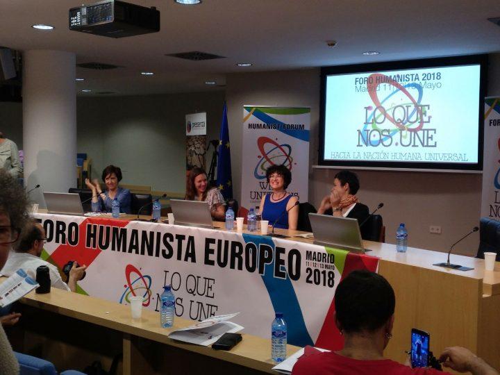 Jornada de apertura del Foro Humanista Europeo