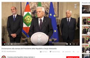 Il gran rifiuto di Mattarella e la crisi delle democrazie