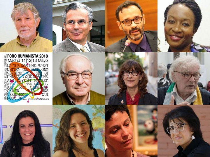 Programa de la sesión de apertura del Foro Humanista Europeo 2018