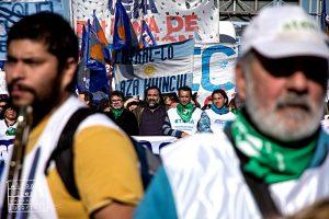Nueva Marcha Federal docente en Argentina