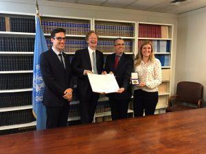 L'Austria consegna i documenti di ratifica del Trattato di Proibizione delle Armi Nucleari