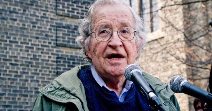 Noam Chomsky Discusses Iraq