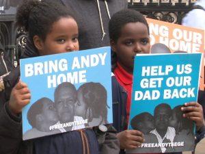 Etiopía, ciudadano británico indultado en el corredor de la muerte después de cuatro años