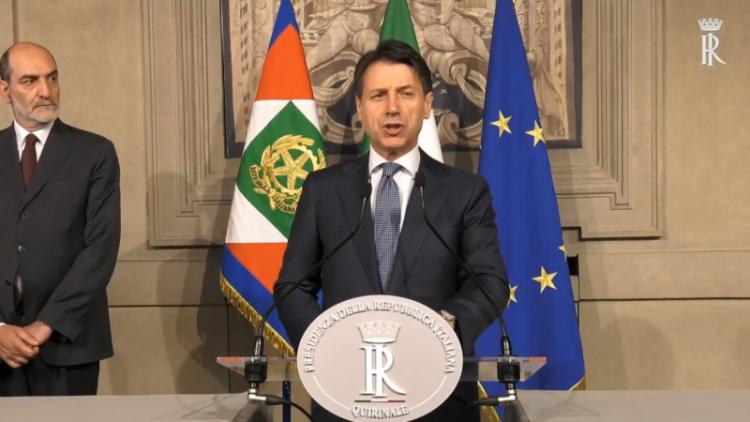 giuseppe conte identità italiana