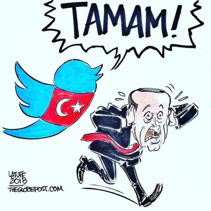 Más de un millón dice 'suficiente' al presidente turco Erdoğan en Twitter