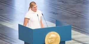 Conferencia de Beatrice Fihn de ICAN-Nobel de Paz 2017