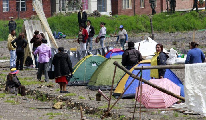 Colombia sigue siendo el país con mayor número de desplazados internos en el mundo