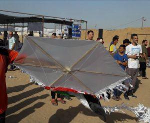 La lucha desigual de Israel contra las cometas