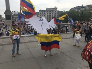 Colombians in London campaign for Petro's humanised Colombia
