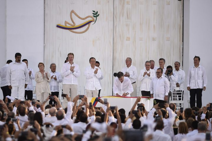 Colombia struggles to build trust in the state as peace process rumbles on