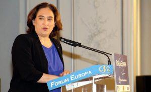 Ada Colau: Los que no salvan vidas eligen la barbarie