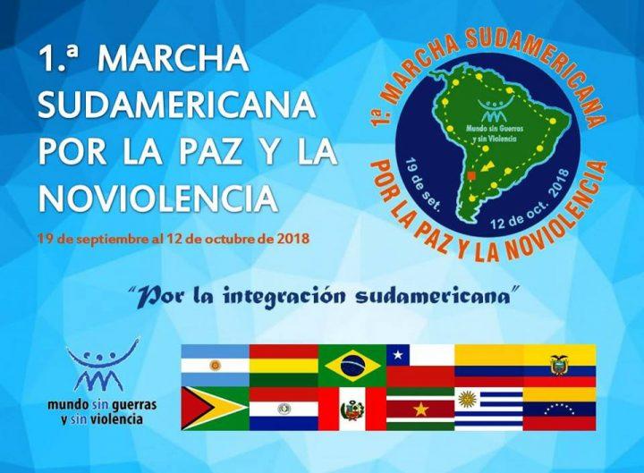 Genèse de la Première Marche sud-américaine pour la Paix et la Nonviolence