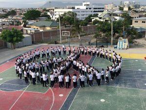 Première activité officielle de la Marche sud-américaine pour la Paix et la Nonviolence active
