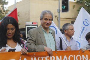 Presidente del Sindicato de Profesores de Chile va a Rosario con la Pedagogía de la Intencionalidad