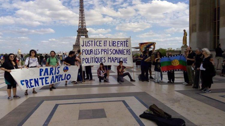 Soutien Peuple Nation Mapuche à Paris