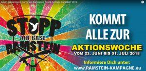 Eugen Drewermann: Llamado a la campaña «Alto a la Base Aérea Ramstein» 2018