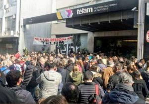 Solidaridad con los 354 colegas despedidos en Télam