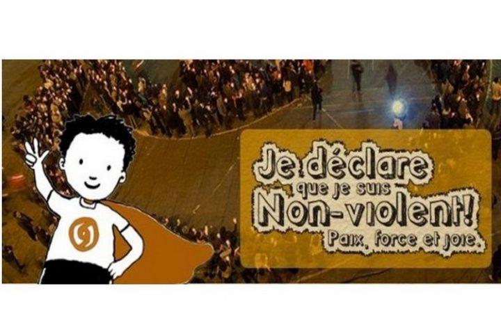 Programme scolaire le Défi Non-violent : Je déclare que je suis Non-violent