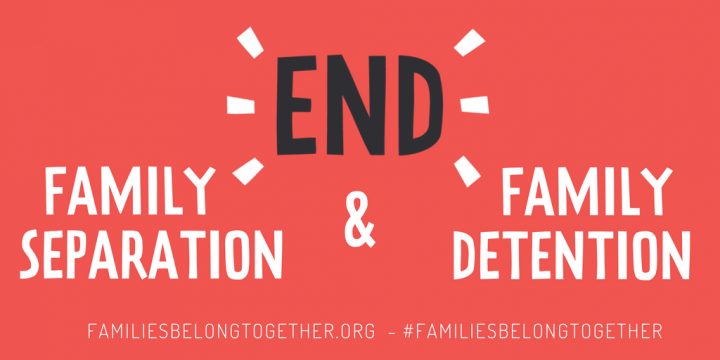 End families separation. Protests all over the world