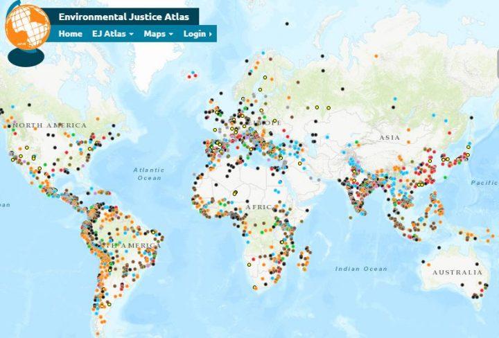 El atlas que registra las luchas ambientales