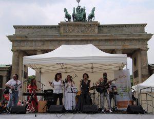 Marcha por la Paz en Berlín