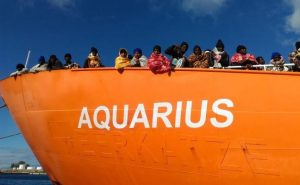Sequestro nave Aquarius. Inquietante e strumentale attacco per bloccare azione salvavita in mare