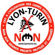 Cinque associazioni francesi contro la  Torino-Lione