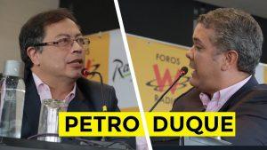 Duque o Petro, hoy se define quién gobernará Colombia