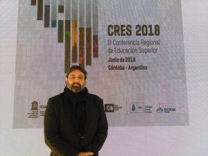 """CRES2018, Ricardo Cuenca (IEP, Perú): """"La educación es un asunto político"""""""