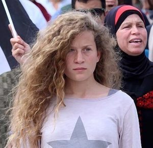 Ahed Tamimi released after eight months in Israeli prison