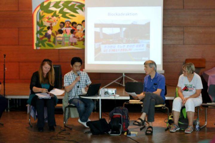 Encuentro internacional contra bases militares extranjeras: ¡Detengan las guerras, no a los refugiados!