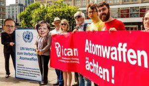 Ein Jahr Atomwaffenverbot: Friedensnobelpreisträger fordern Beitritt Deutschlands