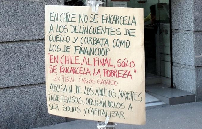 Chile, la gran estafa de la cooperativa Financoop