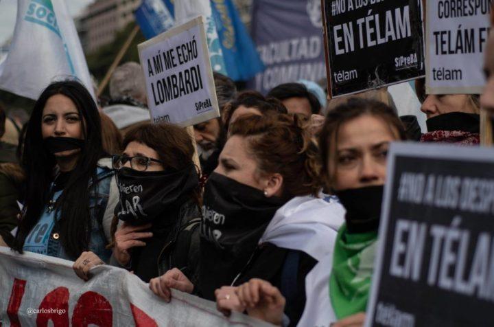 Argentina: licenziati 354 lavoratori dell'informazione