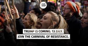 """Il governo del Regno Unito si prepara per le proteste anti-Trump """"come se Londra stesse bruciando"""""""