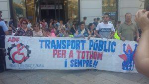Per un transport públic universal: mobilitat per a tothom