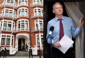 British and Ecuadorian authorities in talks to evict Julian Assange from London embassy