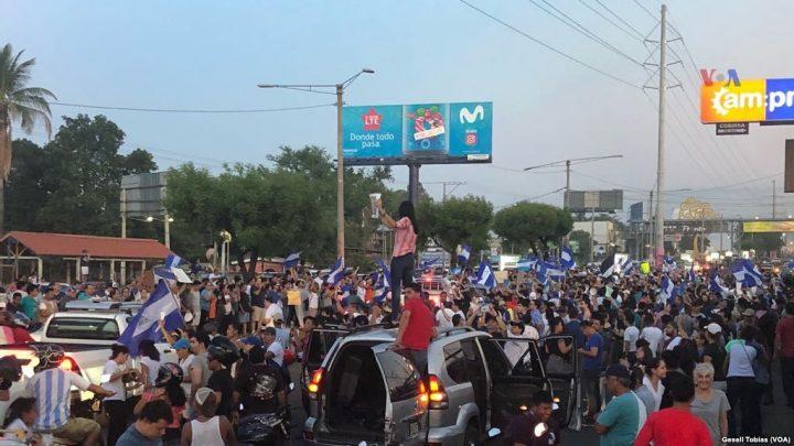 Nicarágua terá marchas e greve geral para cobrar saída de Ortega