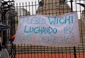 Cacique wichi: «que cumplan la ley que pisotean»