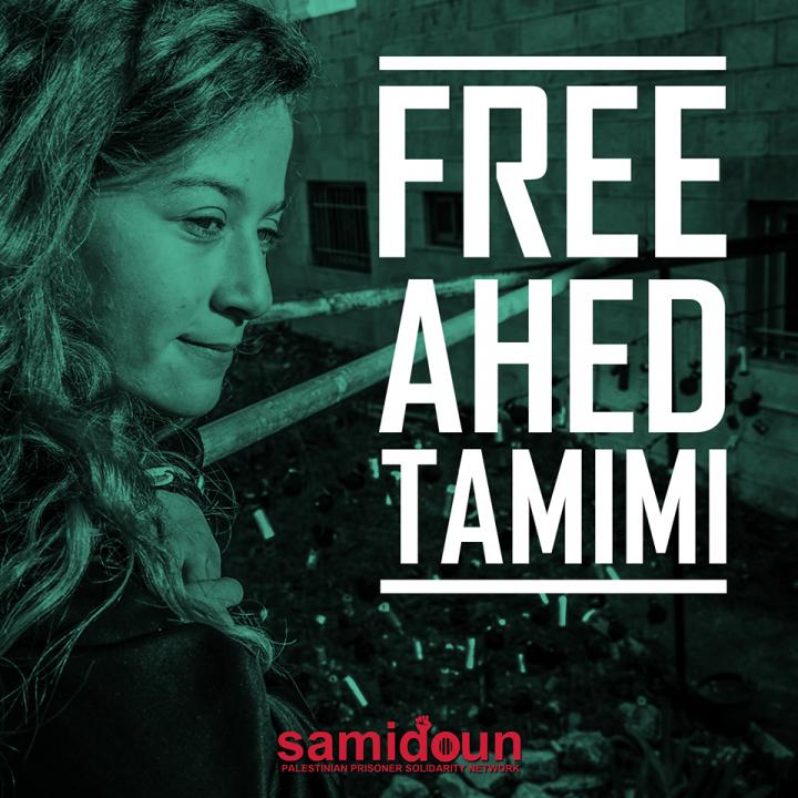 Israel libera a Ahed Tamimi