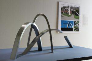 Una escultura para el centenario de la Universidad de Concepción
