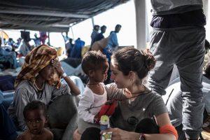 Migrantes, carta abierta de Eleonora Forenza al gobierno italiano
