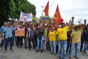 """Marcha Campesina Admirable recorre más de 400 kilómetros """"a pata"""" hasta Caracas"""