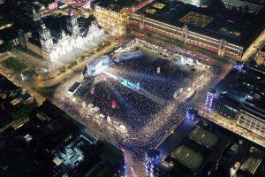 López Obrador celebró su histórica victoria en México