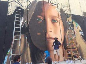 Non si arresta la street art
